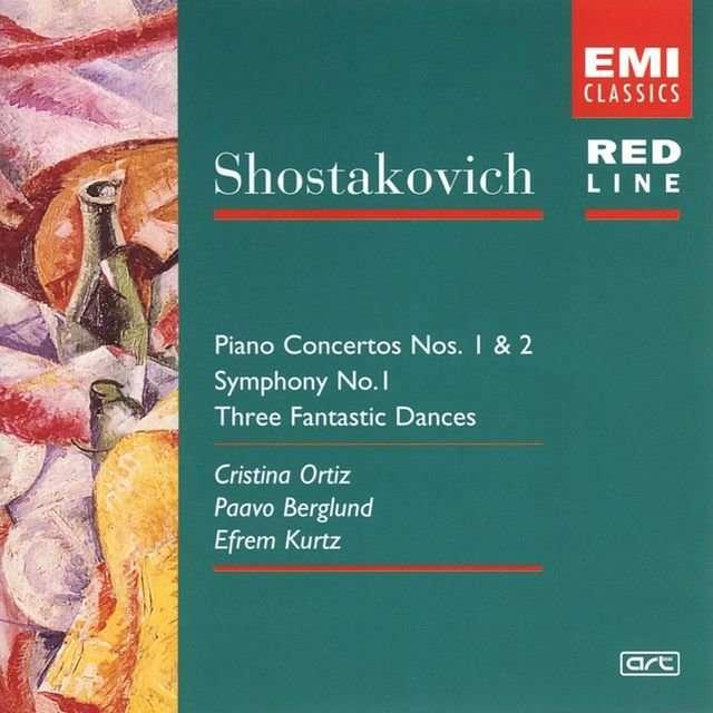 V.A《Shostakovich  Piano Concerto No. 1 + 2 Symphony No. 1 3 Fantastic Dances》[CD级无损/44.1kHz/16bit]