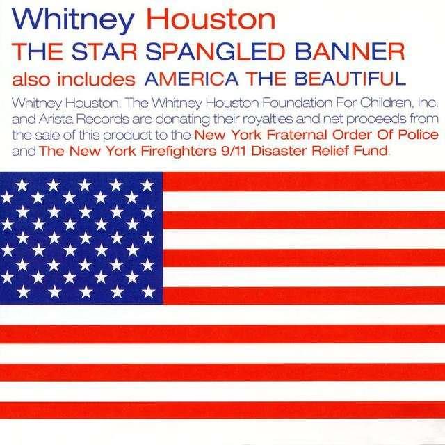 Whitney Houston《The Star Spangled Banner America The Beautiful》[CD级无损/44.1kHz/16bit]