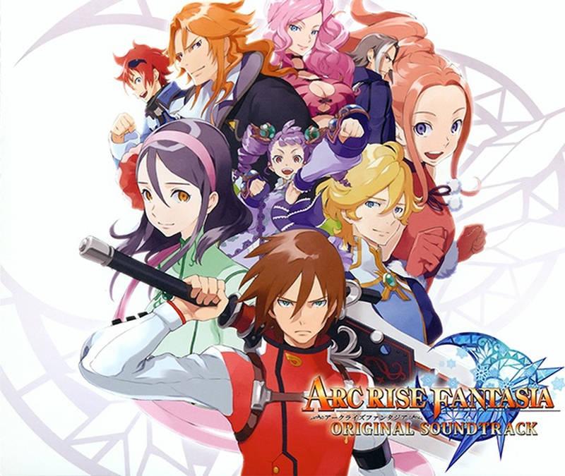 弧光幻想曲 アークライズ ファンタジア《アークライズファンタジア OST》[CD级无损/44.1kHz/16bit]